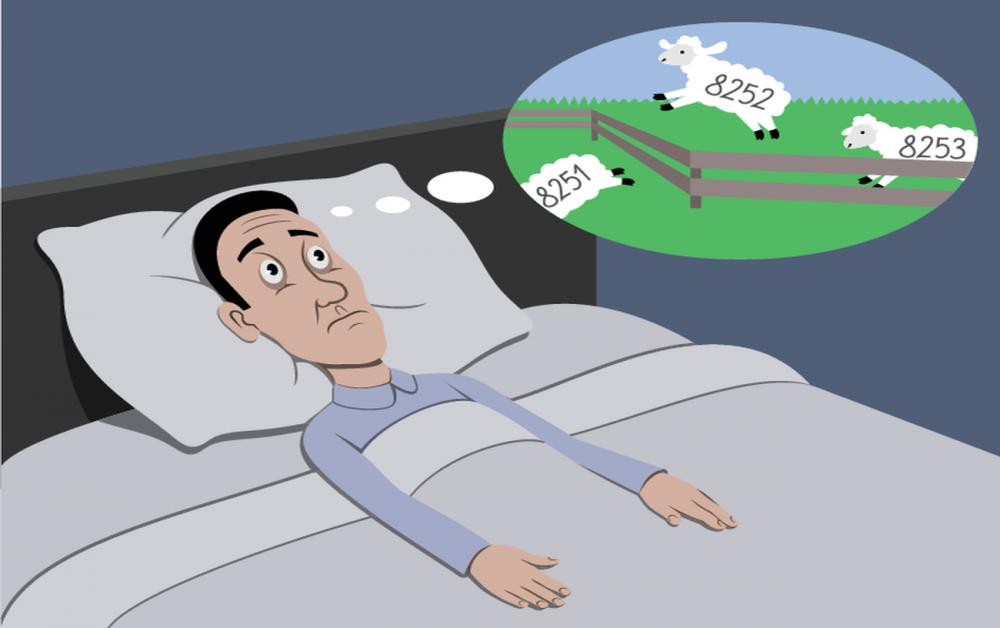 Бессонница - самое распространенное последствие приема стимуляторов